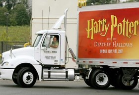 Harry Potter Truck a Milano