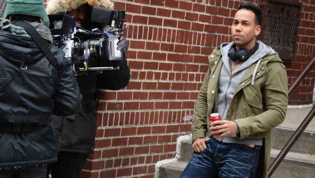 The King Of Bachata, Romeo Santos, Shoots Upcoming Dr Pepper Commercial