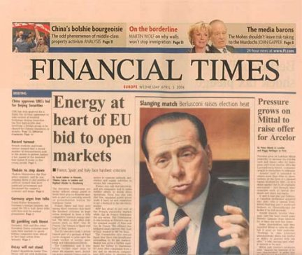 financial times milano