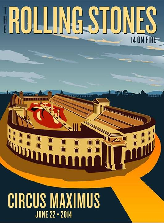 Roma on fire