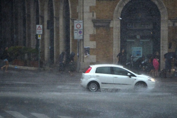 ITALY-WEATHER-STORM-FEATURE