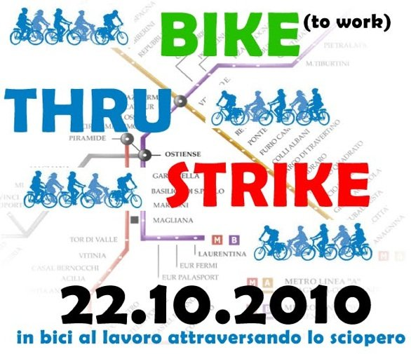 Bike thru Strike