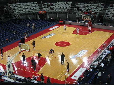Pallacanestro for Il campo da basket