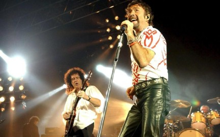I Queen con Paul Rodgers
