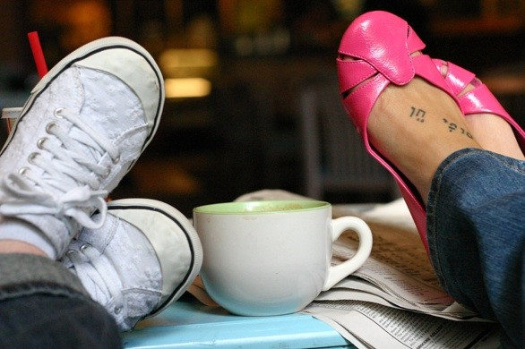 Shoes and a Latte_flickr_A.K. Photography