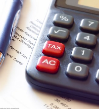 Tax Calculator and Pen_Dave Dugdale