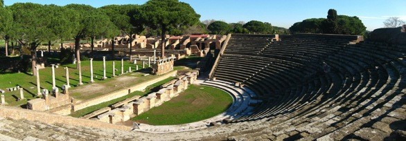 Theater of Ostia Antica, outside of Rome_flickr_Alaskan Dude