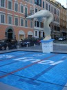 Ambient marketing per i Mondiali di Nuoto