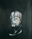 Francis-Bacon_Study-for-Portrait-III_after-the-life-mask-of-William Blake_1955_Collezione-privata