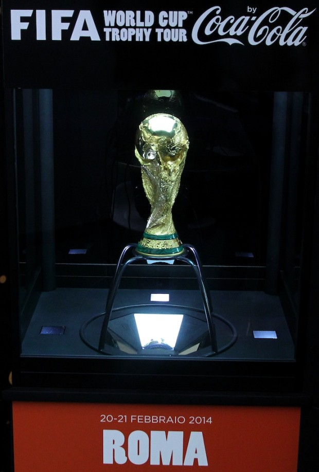 FIFA World Cup Trophy Tour in Rome - Day Two