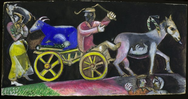 Chagall, The Cattle Deale