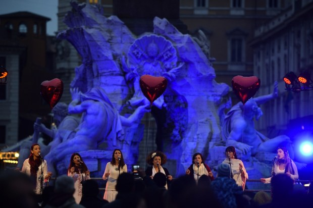 Christmas 2014 in Rome