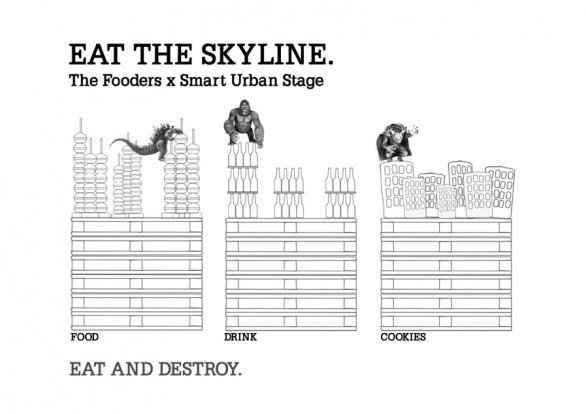 Eat the skyline: The Fooders x Smart Urban Stage Roma