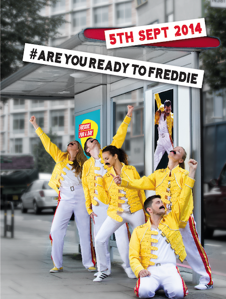 Freddie For A Day 2014 - poster