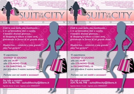 Suit of the City Show a Roma