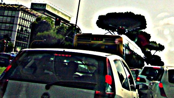 traffico estate roma