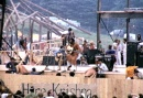 Richie Havens at the Woodstock Festival, Derek Redmond and Paul Campbell