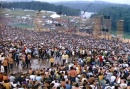 The crowd at Woodstock, Derek Redmond and Paul Campbell