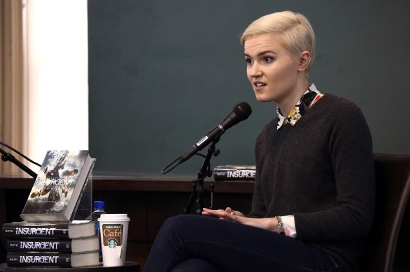 > at Barnes & Noble Union Square on March 15, 2015 in New York City.