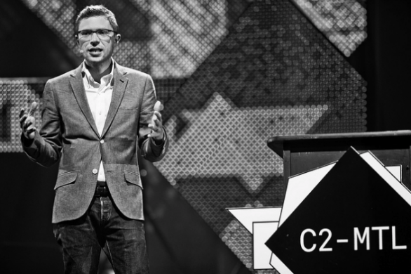 Jonah Lehrer @ C2-MTL © CHARLES WILLIAM PELLETIER