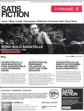 satisfiction.me, satisfiction, gian paolo serino, inediti, riviste