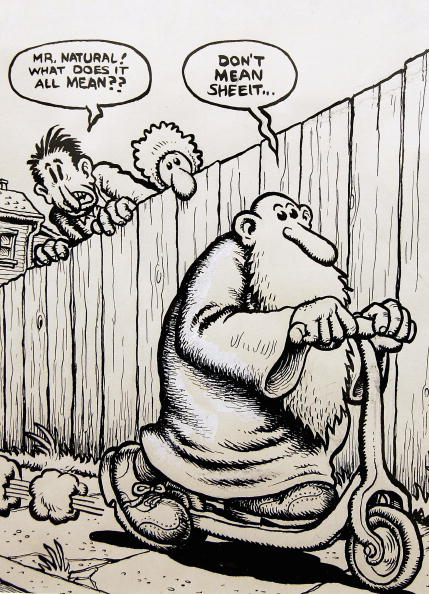 Robert Crumb: A Chronicle Of Modern Times - Press & Private View