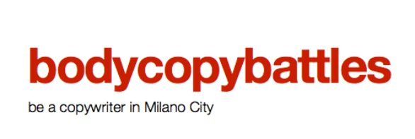 be a copywriter in Milano City