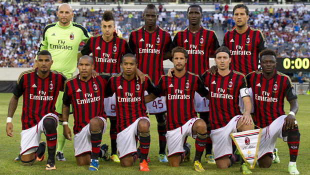 Milan - Los Angeles Galaxy 2-0 | Amichevole Guinness Cup ...