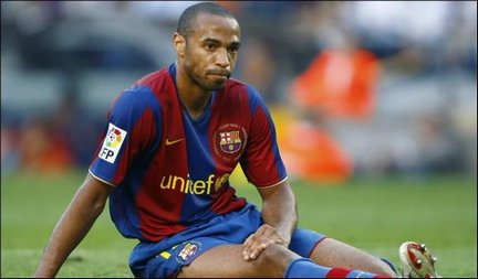 Thierry Henry sul mercato?