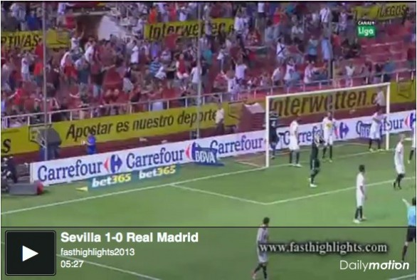 Siviglia - Real Madrid 1-0 | Video Gol e Highlights Liga - Ancora una sconfitta per Mourinho