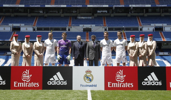 Real Madrid, nuove maglie 2013/14: il nuovo sponsor è Fly Emirates