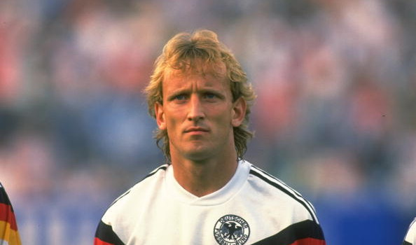 Andreas Brehme of West Germany