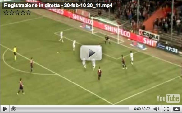 Video Serie A: Genoa - Udinese 3-0 del 20 Febbraio 2010 - Highlights HD