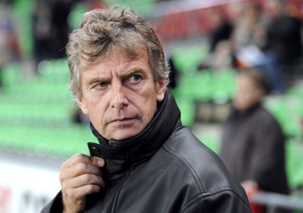 Lorient's French coach Christian Gourcuf