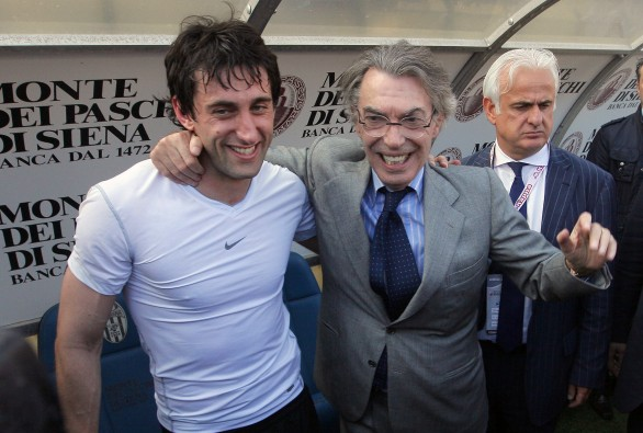 "Milito: ""Thank you for bringing me to Inter, thank you for every thing Moratti"""