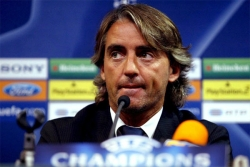 Roberto Mancini, pronto all'esordio in Champions