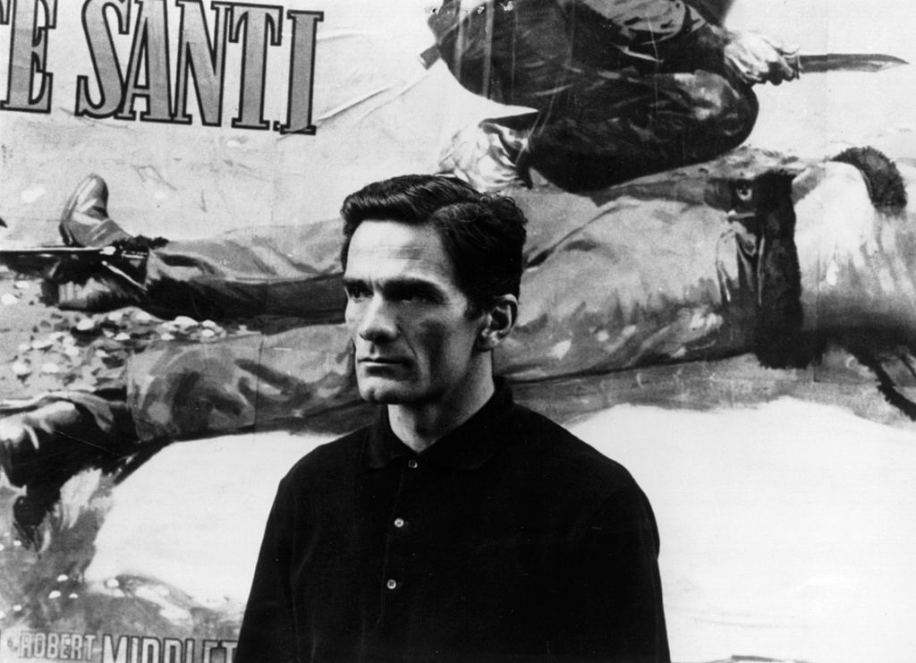 The Italian film director, Pier Paolo Pasolini.    (Photo by Keystone/Getty Images)