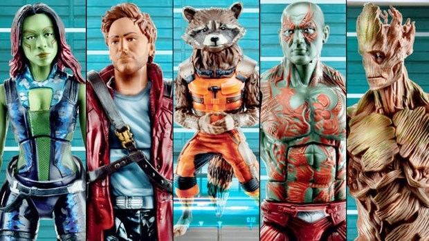 Guardians of the Galaxy - prime foto delle action figures ufficiali (2)
