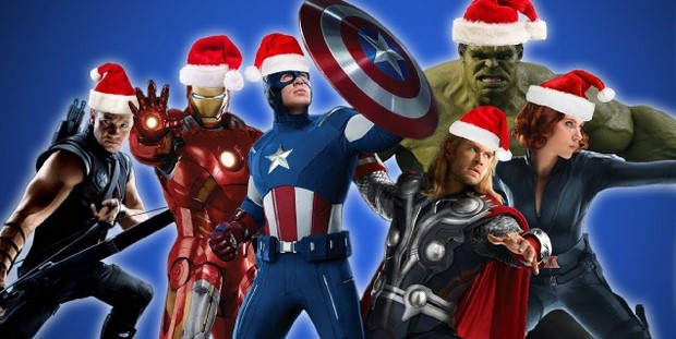 The Avengers canti di Natale in casa Marvel (video)