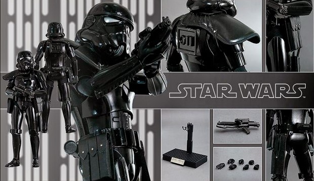 Star Wars nuova action figure Shadow Trooper della Hot Toys (15)
