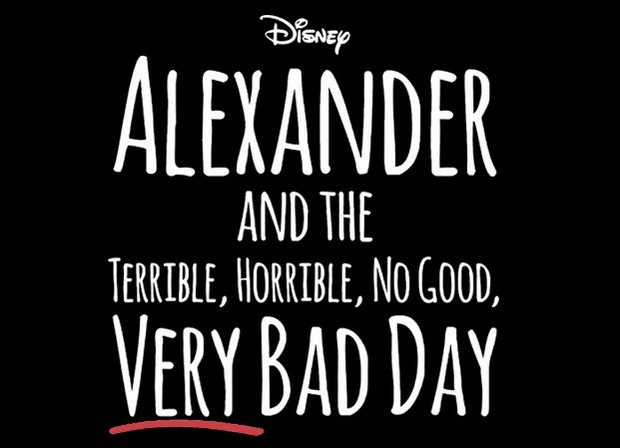 Alexander and the Terrible, Horrible, No Good, Very Bad Day primo trailer dellla commedia con Steve Carell