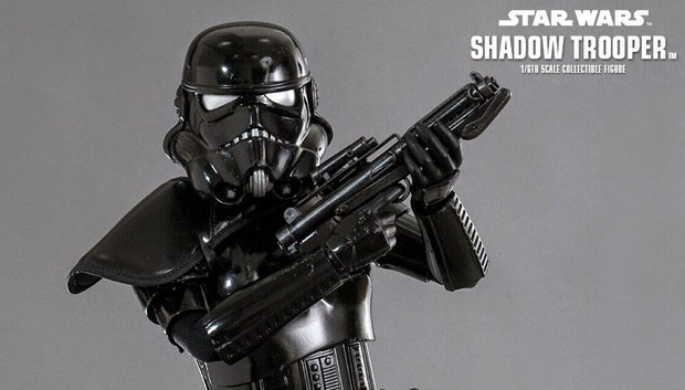 Star Wars nuova action figure Shadow Trooper della Hot Toys (16)