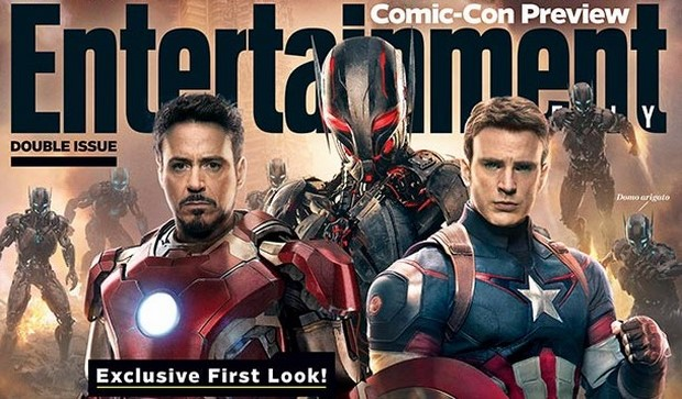 The Avengers 2 - nuovo video dal set e cover EW con Robert Downey Jr., Chris Evans e Ultron (2)