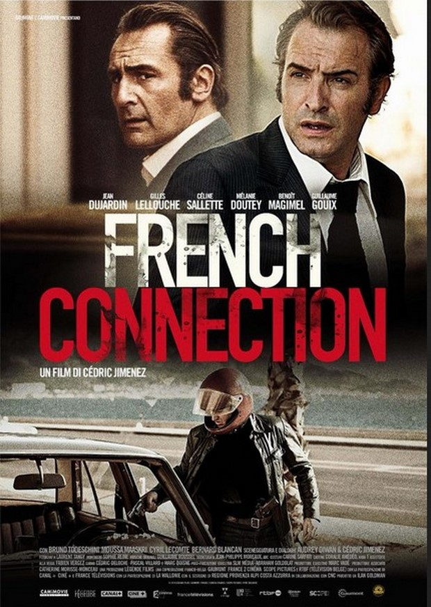 French Connection trailer italiano e locandina del crime-thriller con Jean Dujardin (1)