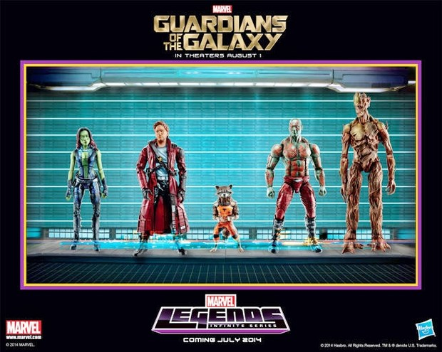 Guardians of the Galaxy - prime foto delle action figures ufficiali (1)