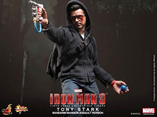 Iron Man 3: nuova action figure di Robert Downey Jr. nei panni di Tony Stark