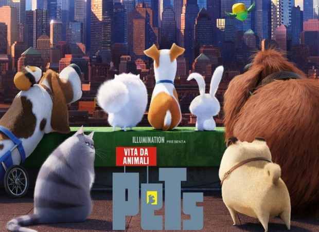 Pets - Vita da animali in 3D 2016 Film Intero Italiano