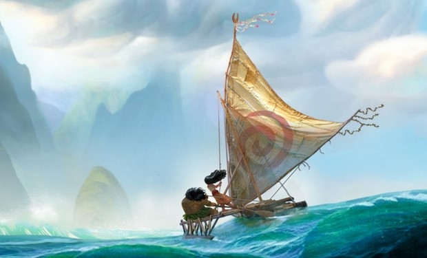 Moana primo artwork per il nuovo film Disney (2)