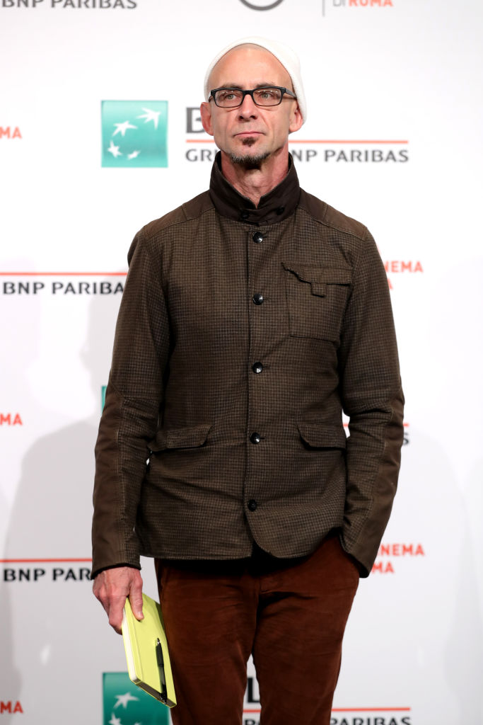 ROME, ITALY - OCTOBER 31:  Chuck Palahniuk attends a photocall during the 12th Rome Film Fest at Auditorium Parco Della Musica on October 31, 2017 in Rome, Italy.  (Photo by Vittorio Zunino Celotto/Getty Images)