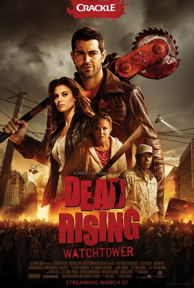 Dead Rising Watchtower - trailer dell'action horror basato sul videogame con zombie (1)